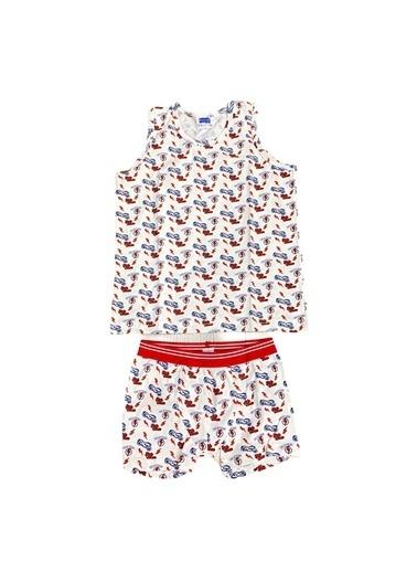Berrak Pijama Takım Renkli